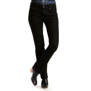 Levi's Black 505 Straight Leg Jeans Size 4